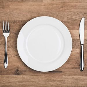Basic Guide To Intermittent Fasting - Empty Plate